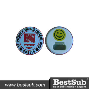 Bestsub Promotional 58mm Bottle Opener Button Badge (PQ58) pictures & photos