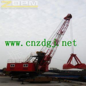 Dock Electric Wheeled Mobile Crane pictures & photos