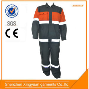 Star Sg 100%Cotton Flame Retardant Anti Static Reflective Workwear Suit