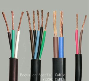 Easy Moving Flame Resistant Flexible Wire Speaker Cable pictures & photos