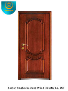 Classic European Style Steel Wooden Armored Door with Carving (b-3012) pictures & photos