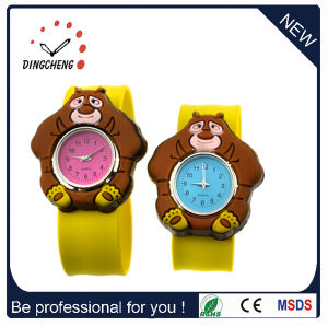 Kids Slap Watch Silicon Custom Logo Designer Watch (DC-1329) pictures & photos