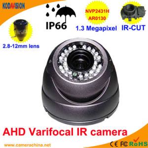 Weatherproof IR Varifocal Dome 1.3 Megapixel Ahd Camera pictures & photos