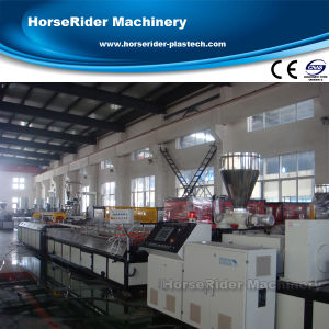 Plastic PVC Window Profile Machine Extrusion Production Line pictures & photos