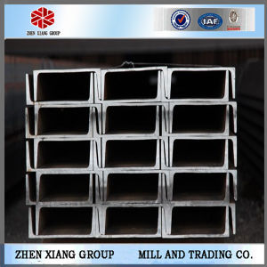Black Hot Rolled Ms U Profile Steel U Channel with High Quality pictures & photos