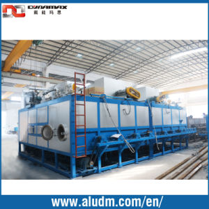 Aluminum Extrusion Machine in Multi Billet Heating Furnace with Hot Log Shear in Gas pictures & photos