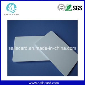 Plastic White Blank Card for Printing pictures & photos