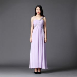 Ld0108 Evening-Party Dress Purple-Long Dress