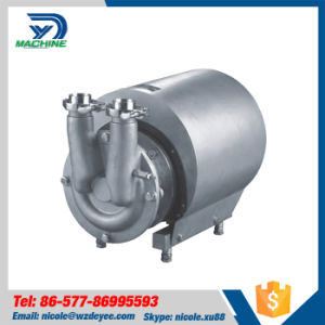 Stainless Steel Sanitary CIP Self Sucking Pump pictures & photos