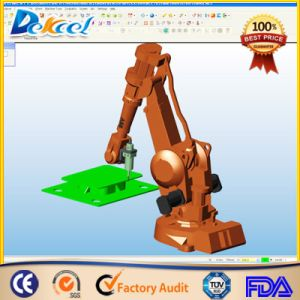 3D New Robotic Metal Laser Cutting Machine Ipg 500W/1000W Automotive Parts Cutting pictures & photos