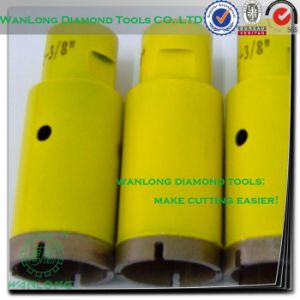 Drill Bit for Very Hard Stone Slab - Diamond Core Drill Bit for Granite Countertops pictures & photos