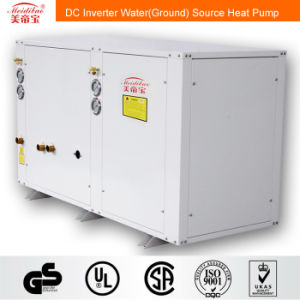 5kw DC Inverter Water (ground) Source Heat Pump for House Heating/Cooling+Hot Water pictures & photos