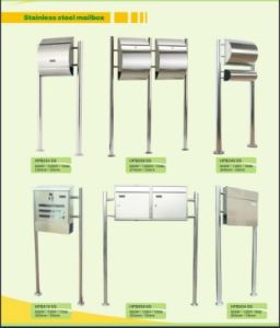 Trustworthy China Supplier Modern Stainless Steel Mailboxes pictures & photos