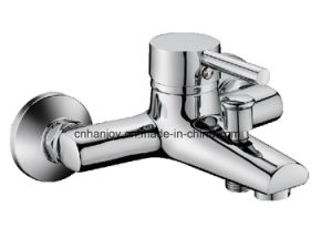 Wall Mounted Single Handle Bathtub Faucet (H14-102) pictures & photos