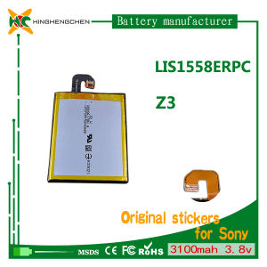 High Capacity 3100mAh 3.8V Phone Battery for Sony Z3 L55t L55u D6653 D6633 pictures & photos