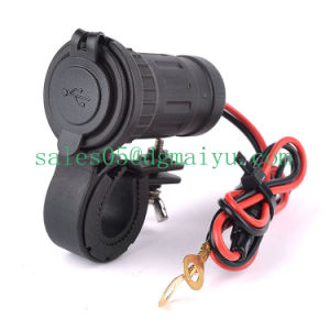 Motorcycle USB Charger for Phone with Bracket pictures & photos