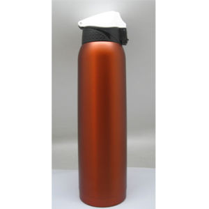 800ml Double-Wall 304 Stainless Steel Vacuum Tumbler with Flip Cap