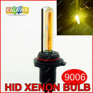 9006 Single Beam HID Xenon Bulbs DC 35W 3000k Yellow Amber H1 H3 H4 H7 H8 H9 H11 H27 880 9005 1A ^Jmq