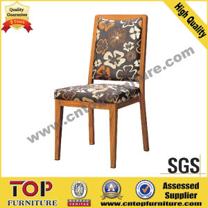 Wood Looking Aluminum Dining Chairs pictures & photos
