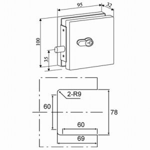 Patch Fitting Door Lock (APF-031C)  sc 1 st  Target Hardware Factory Co. Ltd. & China Patch Fitting Door Lock (APF-031C) - China Patch Fitting ... pezcame.com