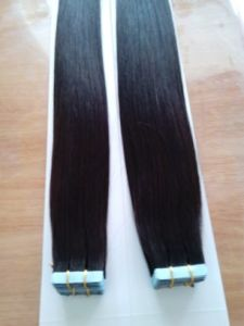 Remy Brazilian Human Hair PU Tape Hair Extensions Fast Delivery