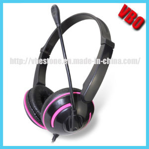 Colorful Computer Headphones with 3.5mm Jack (VB-9319M) pictures & photos