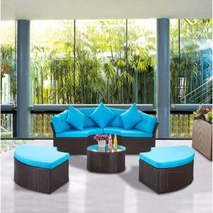 2017 Outdoor Leisure Garden Sofa Wicker Furniture Rattan Sofa Outdoor Furniture S203 pictures & photos