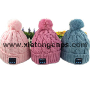 fashion Bluetooth Hat with Headphone, Cute Knitted Bluetooth Music Hats pictures & photos