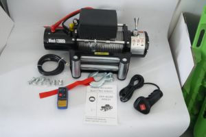 Synthetic Rope /Wire Rope Electric Winch / 4X4 off-Road 12000lbs Winch (DH12000F/DH12000F-S) pictures & photos