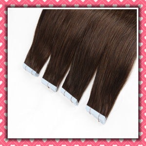 Wholesale Price High Quality PU Skin Weft Hair Extensions 20inch pictures & photos