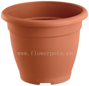 Round Plastic Garden Planter (KD2302-KD2305) pictures & photos
