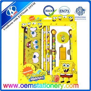 Promotion Stationery Set for Kids, Back to School Stationery Set