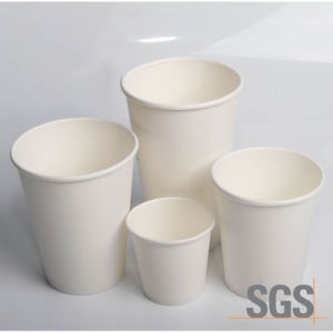Disposable Single Kraft Paper Cup with Lid pictures & photos