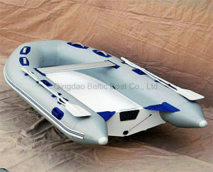China Fishing Inflatable Boats with Fiberglass Floor 330