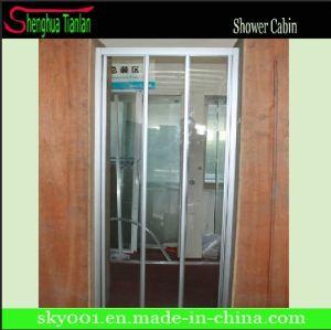 3 Panel 3 Doors Sliding Shower Door pictures & photos