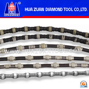 Diamond Wire Saw for Stone, Sintered Wire Saw Beads pictures & photos