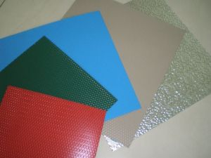 Prepainted Aluminium Wrinkled Pattern Sheet pictures & photos