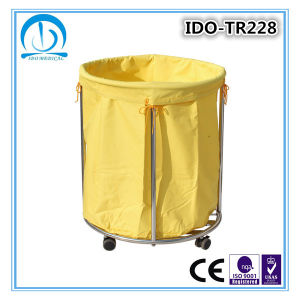 Ce ISO Approved Hospital Linen Trolley pictures & photos