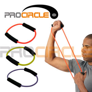 Crossfit Short Resistance Loop Band with Handles (PC-RB1036) pictures & photos