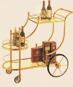 Luxury Liquor Trolley with Four Wheels pictures & photos