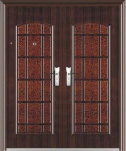 Steel Apartment Building Entry Doors (entrance door) pictures & photos