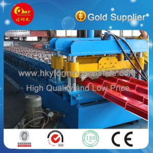 Normal Arc Color Steel Glazed Tile Roll Forming Machine pictures & photos