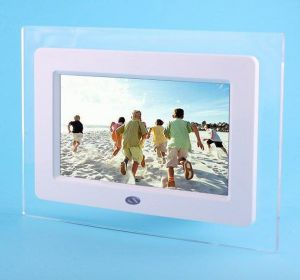 7′′ Acrylic Portable Full Function Digital Photo Frame
