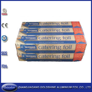 Household Aluminum Foil Roll for Food Packing pictures & photos