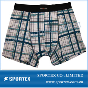 Men′s Boxer with Trendy Style (MB0413)