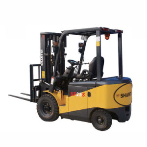 Battery Operated Electric Forklift Truck pictures & photos