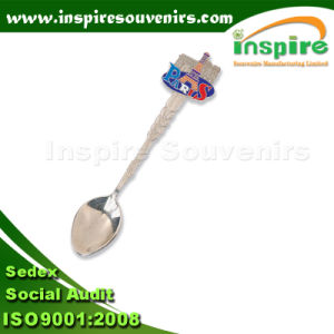 Metal Spoon Gift with Color Filling pictures & photos