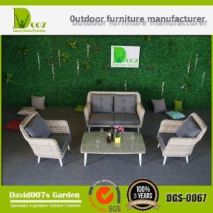 Top Quality Synthetic Rattan Outdoor Garden Furniture Cornor Sofa Set pictures & photos