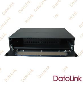Patch Panel/ Slidable Rack Mount Type Patch Panel 24 Cores pictures & photos
