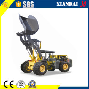Side Dumping Tunnel Wheel Loader with Ce for Sale Xd926 pictures & photos
